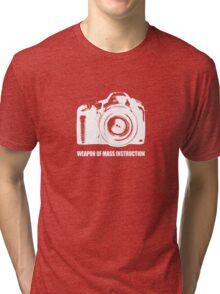 weapon of mass instruction Tri-blend T-Shirt