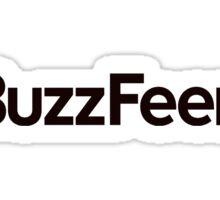 BuzzFeed logo Sticker