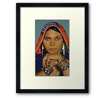 Papu - Acrylic Painting Framed Print