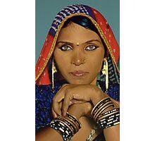Papu - Acrylic Painting Photographic Print