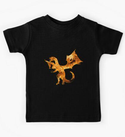 Flaming Dragon Kids Tee