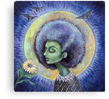 The Light of the Moon Canvas Print