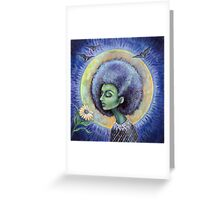 The Light of the Moon Greeting Card