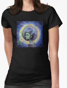 The Light of the Moon Womens Fitted T-Shirt