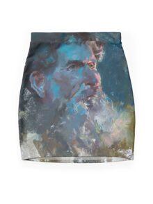 Yarom in Dual Lighting Mini Skirt
