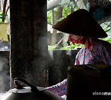 The rice paper maker by Elena Martinello