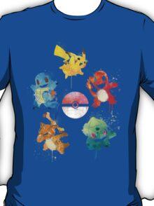 The 5 Elements ft. Ash's Pokemon T-Shirt