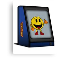Pac-Man Arcade Canvas Print