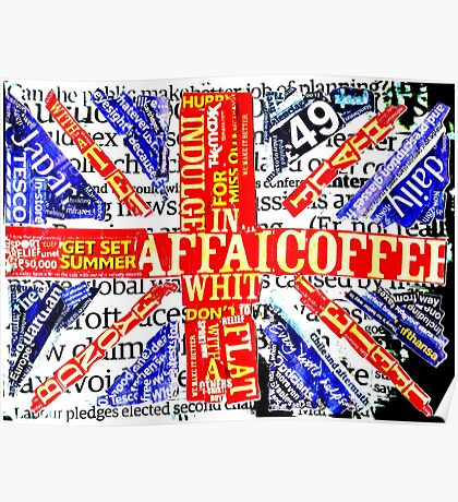 Wordy Britain Poster