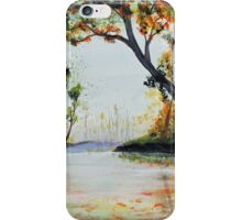 October Reflections iPhone Case/Skin