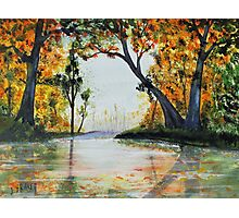 October Reflections Photographic Print