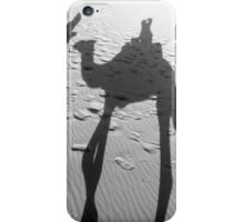 Shades of the Sahara, in black & white iPhone Case/Skin