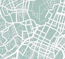 Minimal Maps - Tokyo J.P. by SamCarrHyde
