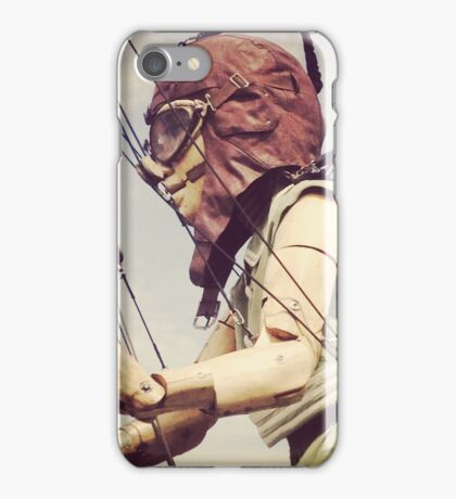 Giant Puppet Doll Girl Arrives In Liverpool iPhone Case/Skin