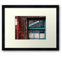 Reflections of Urban Street Life 29 Framed Print