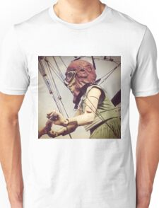 Giant Puppet Doll Girl Arrives In Liverpool Unisex T-Shirt