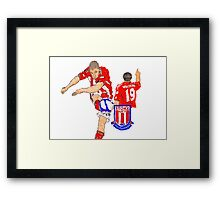 Super Jonny Walters - Potters' Cult Hero Framed Print