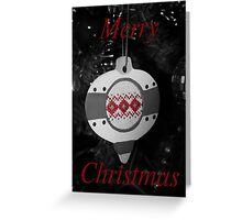 Bauble - Christmas Card Greeting Card