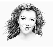 Alyson Hannigan Portrait Photographic Print