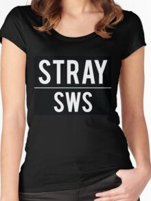Stray Women's Fitted Scoop T-Shirt