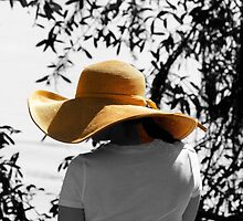 Lady with the big Hat by Photography by TJ Baccari