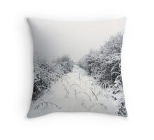 Gwent wetlands Newport South Wales Throw Pillow