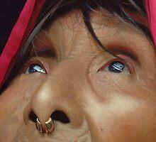 The Kuna of Panama - Acrylic Painting by Scott Simpson