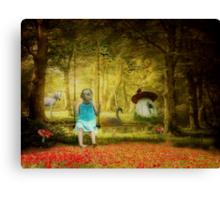 In Her Dreams... Canvas Print