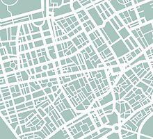 Minimal Maps - London U.K by SamCarrHyde
