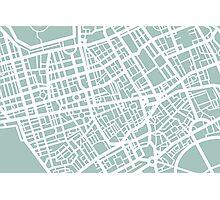Minimal Maps - London U.K Photographic Print