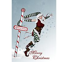 Northpole Dancer Photographic Print