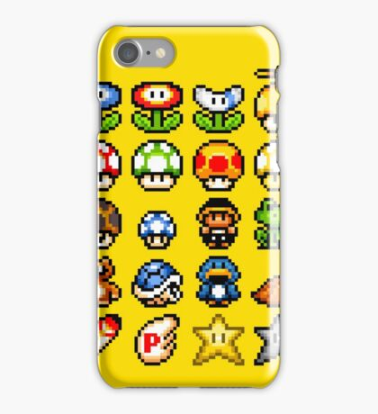 Powerups iPhone Case/Skin