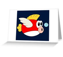 Cheep-cheeps Greeting Card