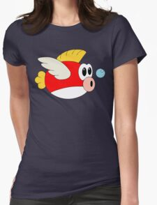 Cheep-cheeps Womens Fitted T-Shirt