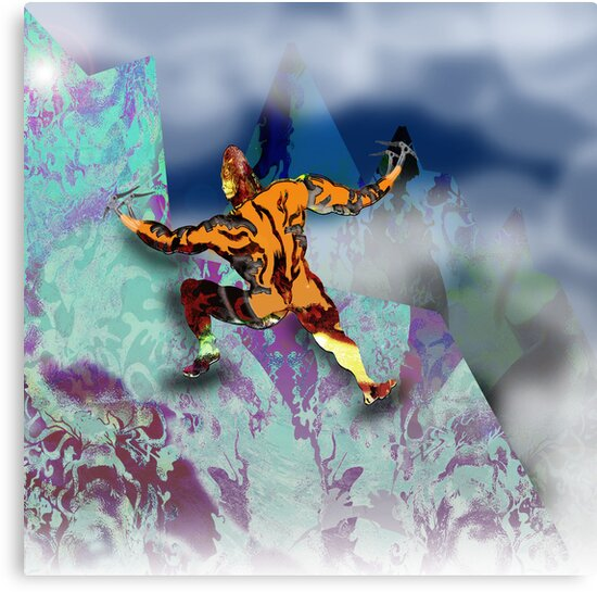 Ice Axe mutant 1. by Grant Wilson
