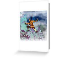 Ice Axe mutant 1. Greeting Card