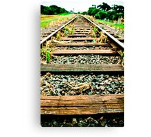 on track ! Canvas Print