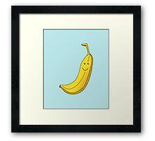 Banana Illustration. Framed Print