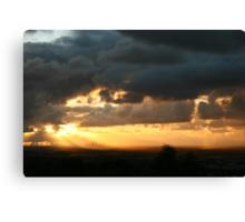 The Skies Energy Canvas Print