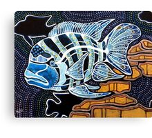 Moby the Cichlid Canvas Print