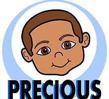 Cute Cartoon Smiling Boy by Tannassie