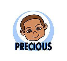 Cute Cartoon Smiling Boy Photographic Print