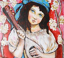 Gypsy girl by pbsartstudio