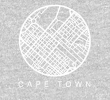 Minimal Maps (Grey) - Cape Town S.A. Unisex T-Shirt