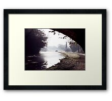 Down the Tow Path Framed Print