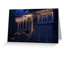 Neighborhood Lights Greeting Card