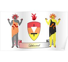 Lithsexual Crest Poster