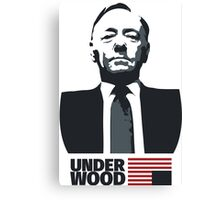 House of Cards – Kevin Spacey – Underwood Canvas Print