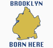 Brooklyn Born Here Kids Clothes