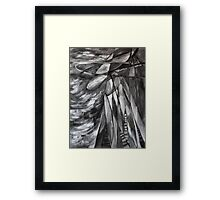 Marina Bay Sands – Sands descending. Framed Print
